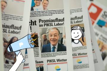 PIKSL Zeitung mit weiteren Illustrationen