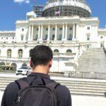 PIKSL-Mitarbeiter vor Capitol in Washington