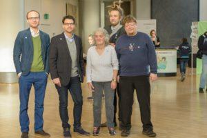PIKSL-Mitarbeiter besuchen den Landtag