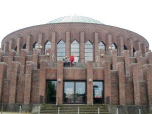 Fotoshooting an Düsseldorfer Tonhalle