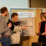 PIKSL-Mitarbeiter erklären Ergebnisse